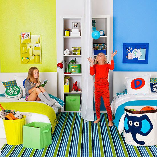 Shared Boys Bedroom Storage: Kids Rooms: Shared Bedroom Solutions