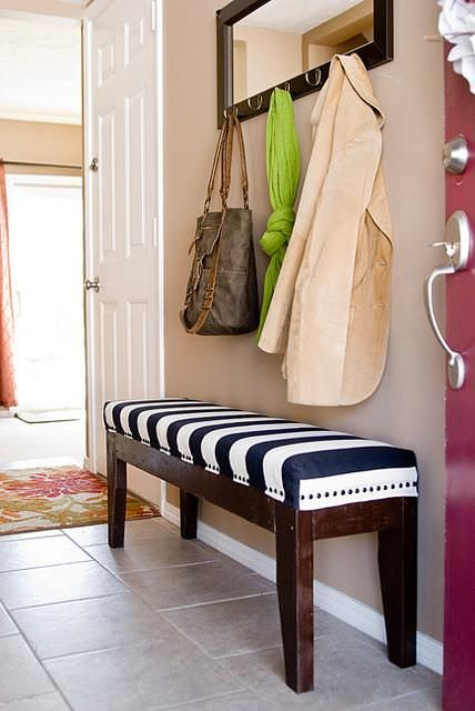 Diy Foyer Bench : Diy entryway bench projects sufey