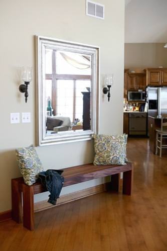 Foyer Bench Ideas : Diy entryway bench projects decorating your small space