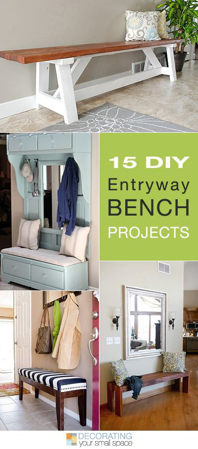 15 Diy Entryway Bench Projects Ohmeohmy Blog