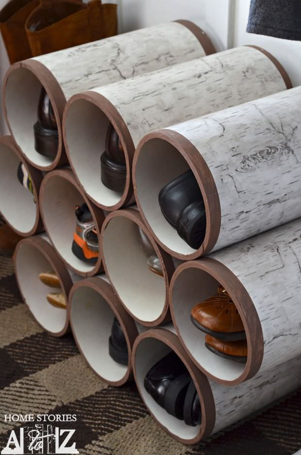 Awesome PVC Projects For The Home Decorating Your Small Space - Diy pvc pipe projects home
