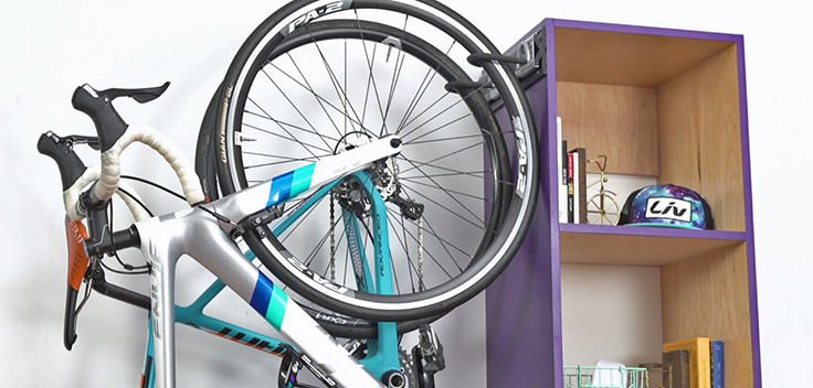 Creative diy bike storage racks decorating your small space creative diy bike storage racks solutioingenieria Image collections