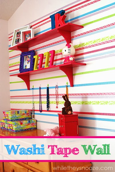 Washi_tape_wall_While_they_snooze