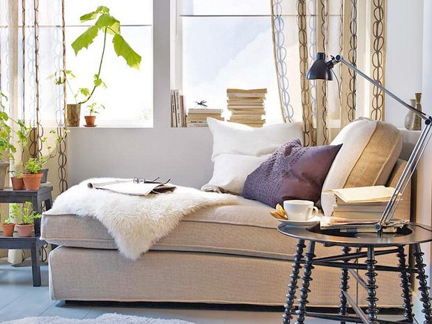 comfortable-ikea-living-room-design-with-sectional-sofa-and-small-pillows