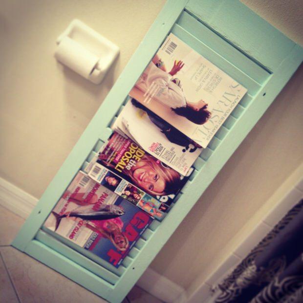 Creative Diy Magazine Racks Decorating Your Small Space
