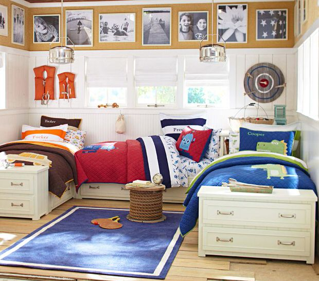 Boys Shared Bedroom Ideas: Kids Rooms: Shared Bedroom Solutions