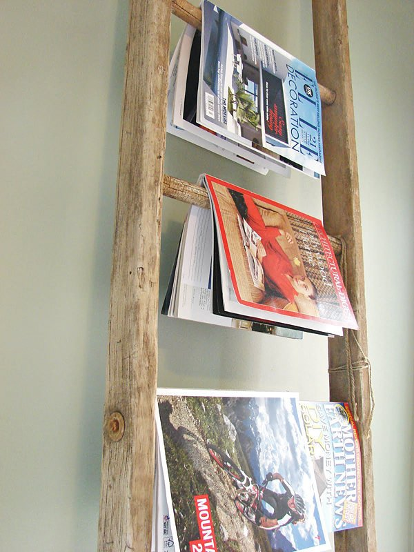 Creative DIY Magazine Racks