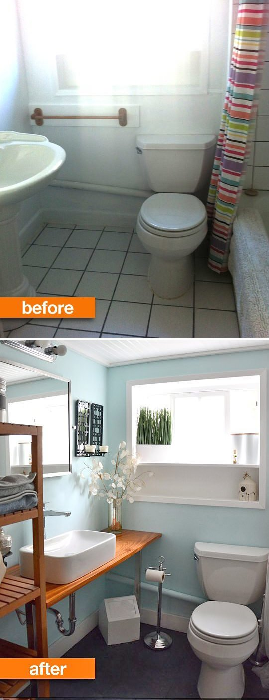 Tiny Bath Makeovers. U0027