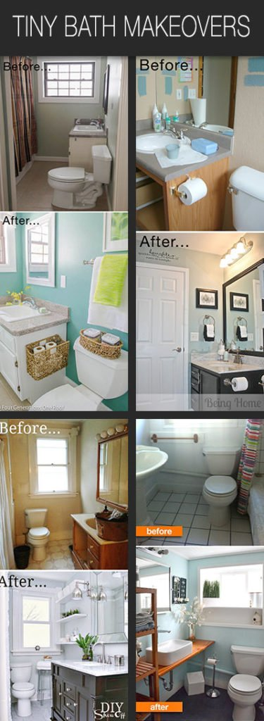 Small Bathroom Ideas & Makeovers