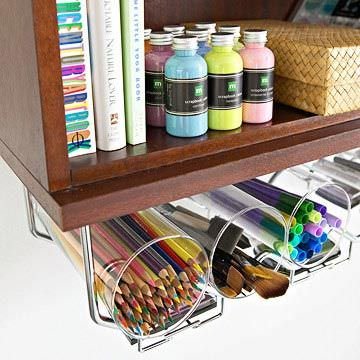 DIY Home Office Organizing Ideas