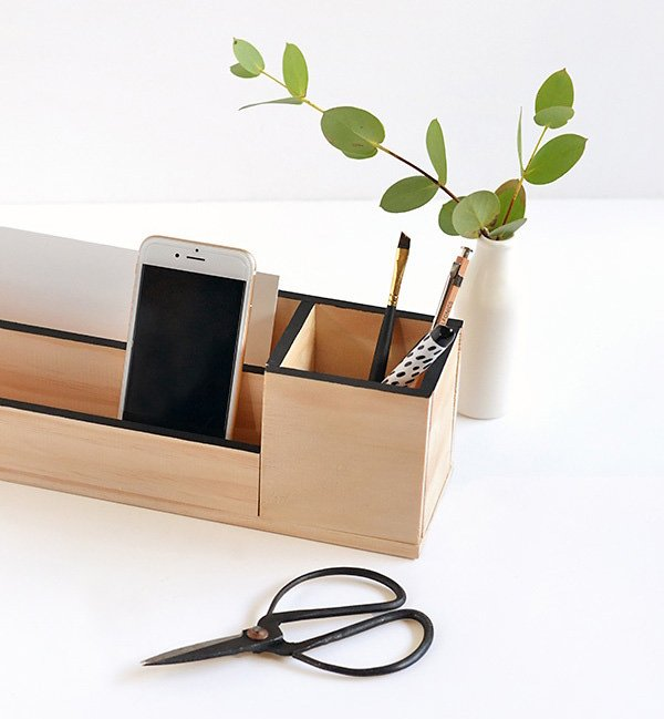 DIY Home Office Organizing Ideas
