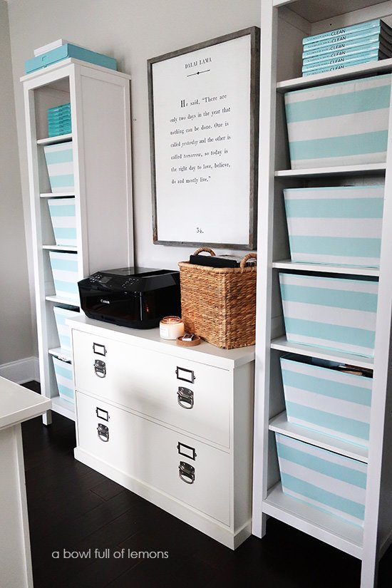 organize office to home by blissful ways a your ideas organization nest pi via