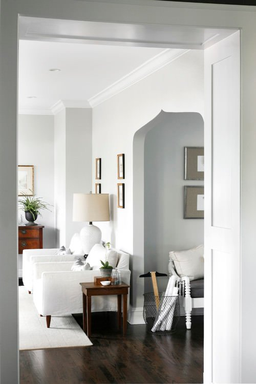 Trendy gray paint colors