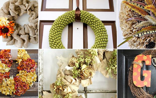 Fall Wreaths DIY