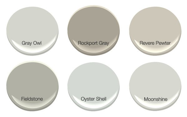 Gray Shades 6 shades of gray! - trendy favorites | decorating your small space