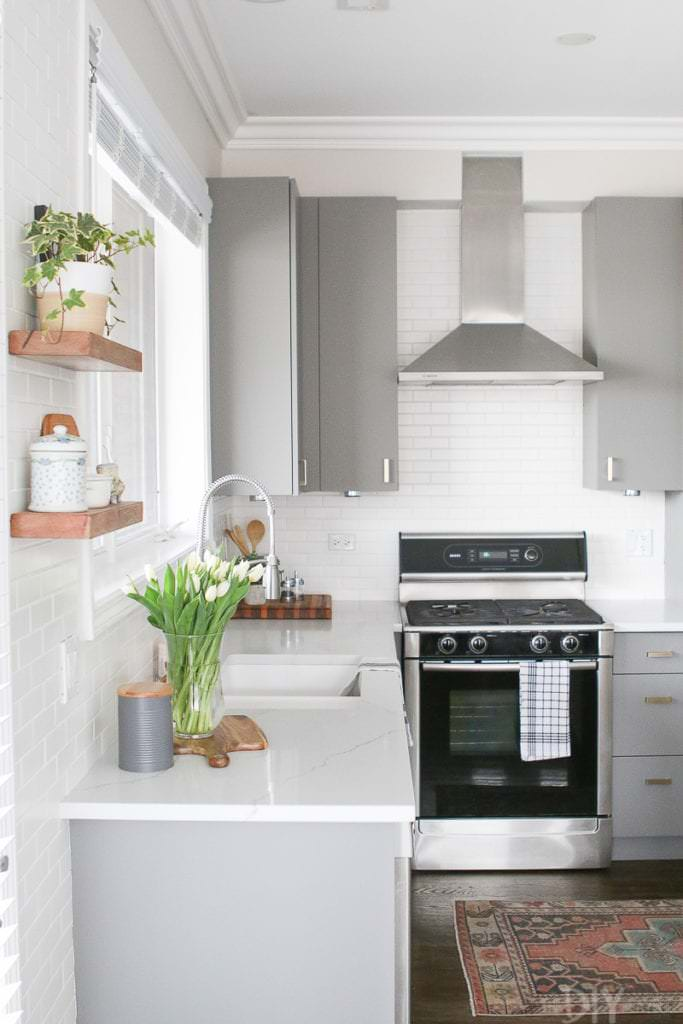 DIY Small Kitchen Decorating & Design Ideas | OhMeOhMy Blog