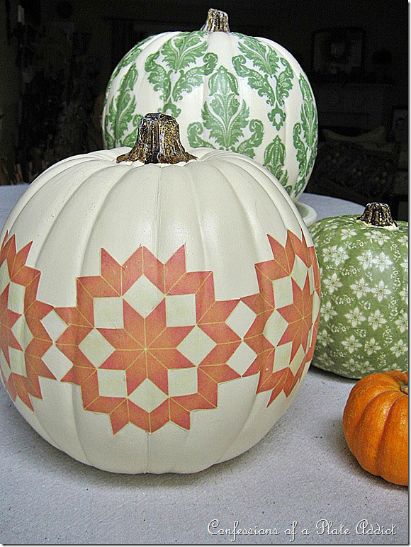 11 Ideas For Pretty Pumpkins