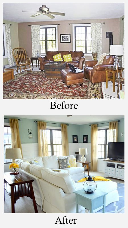 small living room before and after small living room makeovers decorating your small space 24237