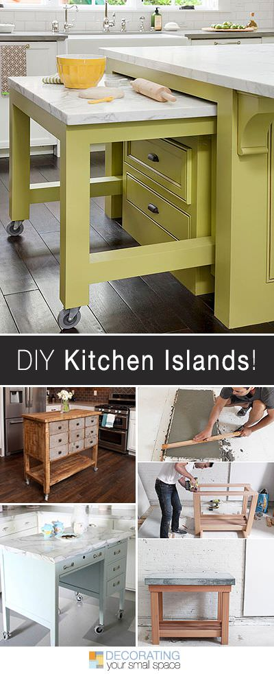DIY Kitchen Island Ideas & Projects | Decorating Your Small Space on outdoor cart, diy trunk, 3 level plastic utility cart, diy storage rack, diy home decor, diy cabinet, diy stand, diy armoire, diy bedroom set, restaurant three tier cart, diy living room, diy rug,