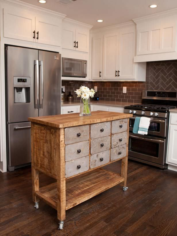 More diy kitchen islands decorating your small space for Kitchen island plans pdf