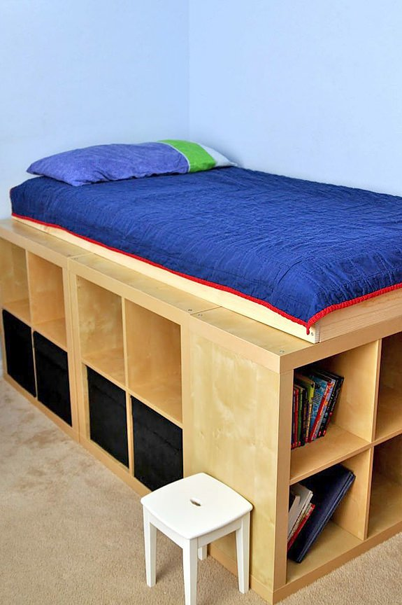 Storage solutions all around the house decorating your - Storage solutions for small bedrooms ...