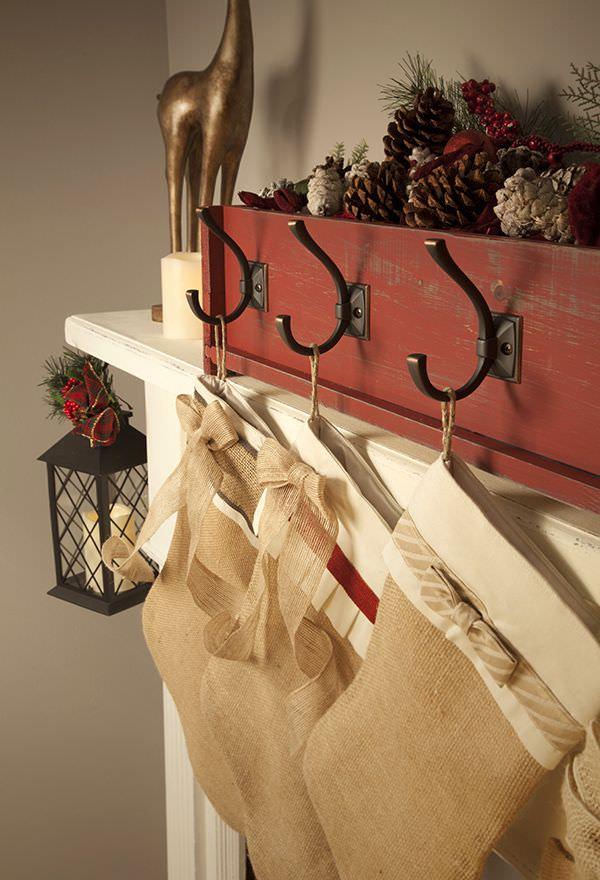 DIY Stocking Hangers - 6 Weeks of Holiday DIY : Week 1 ...