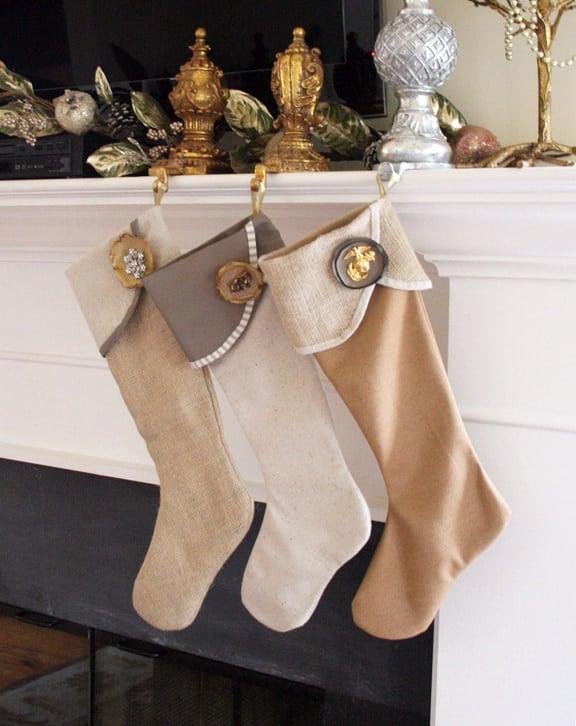 6 Weeks Of Holiday Diy Week 2 Diy Christmas Stockings