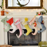 6 Weeks of Holiday DIY : Week 2 – DIY Christmas Stockings!