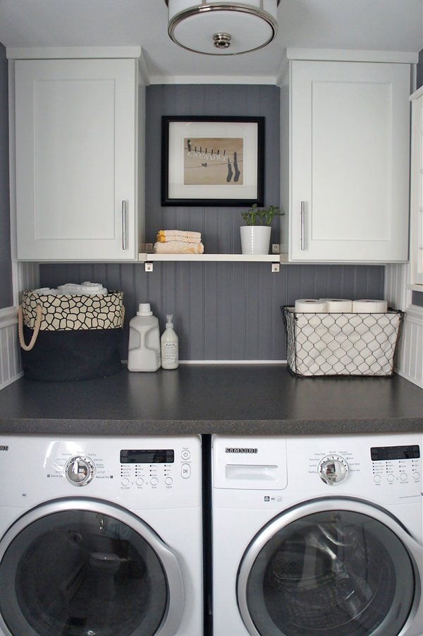 10 Awesome Ideas for Tiny Laundry Spaces Decorating Your Small Space