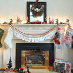 6 Weeks of Holiday DIY : Week 5 – Holiday Mantel Ideas