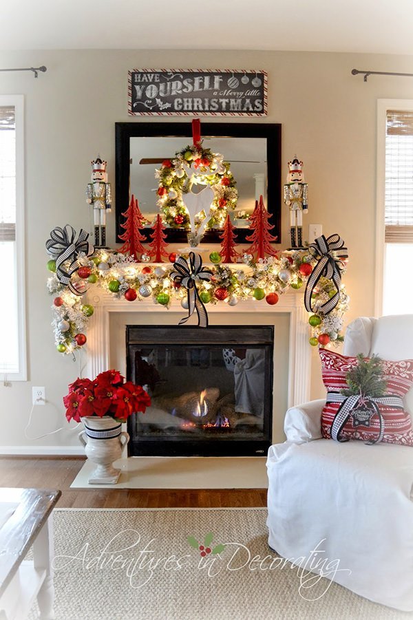 6 Weeks of Holiday DIY : Week 5 - Holiday Mantel Ideas ...