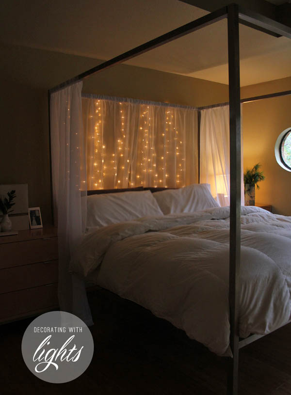 christmas lights in bedroom 54 1 kindesign - Christmas Lights Bedroom Decor