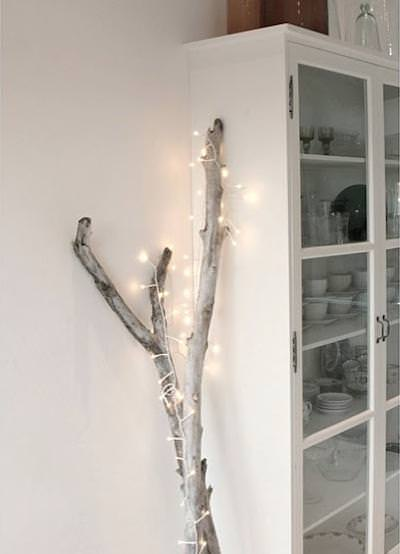 Starry string lights year round home decor
