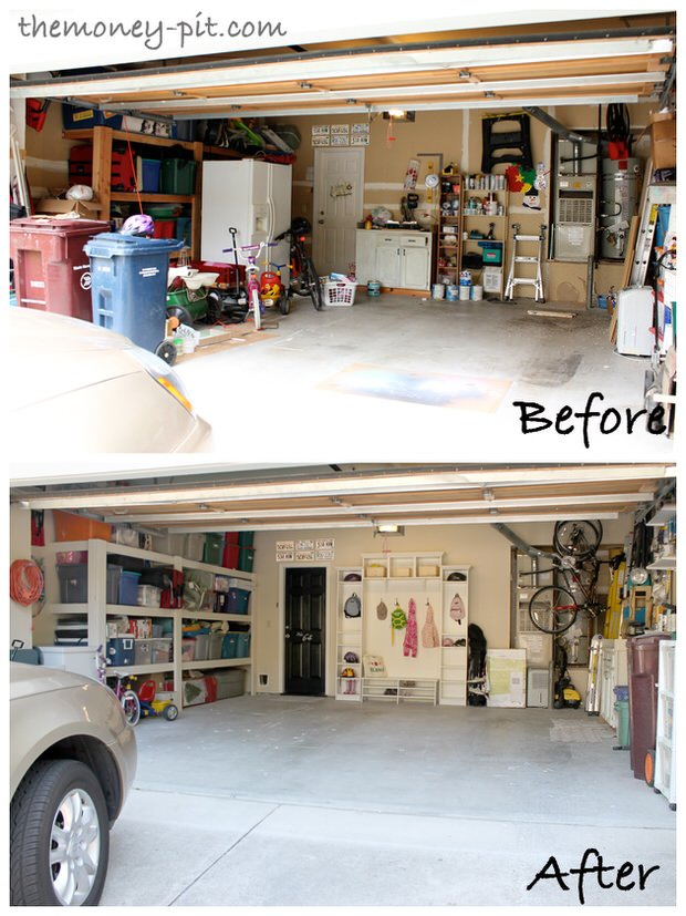 Garage from outside