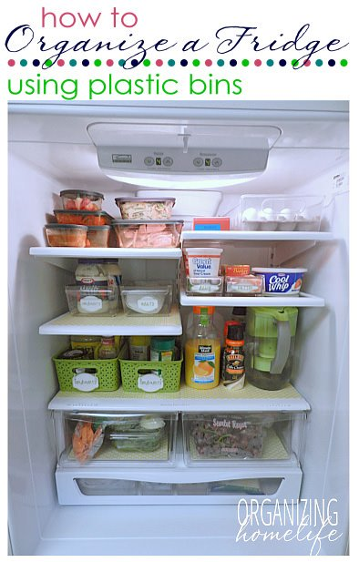7 Steps to an Organized Fridge