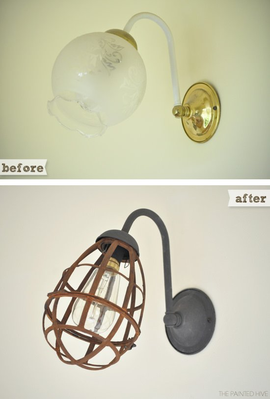DIY sconce lights