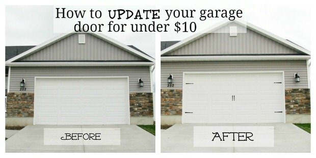 Garage makeover projects decorating your small space for Home hardware garage package