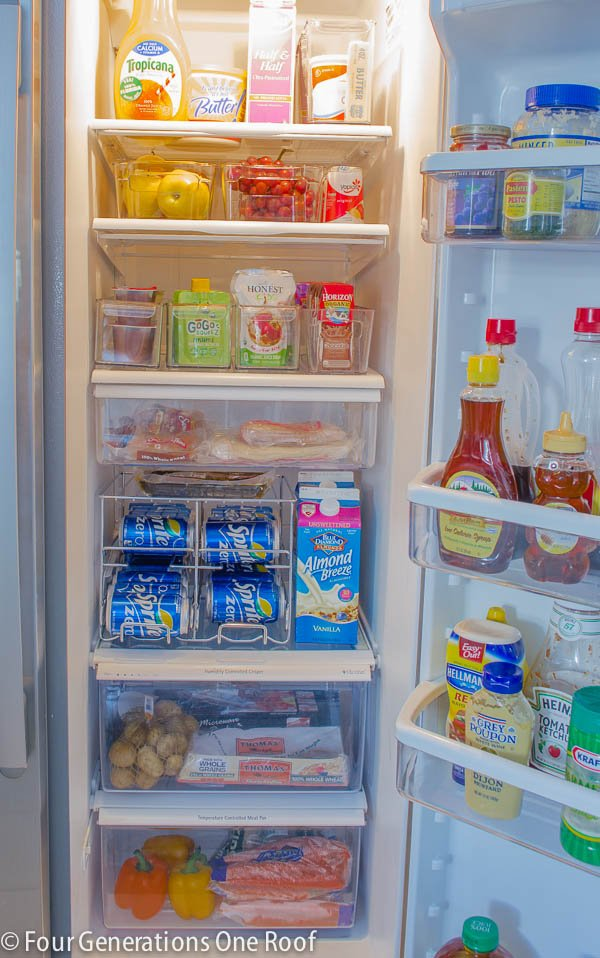 Refrigerator-organization-project-12 & 7 Steps to an Organized Fridge | Decorating Your Small Space