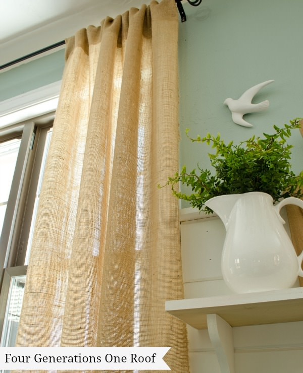 10 Creative Projects With Burlap Decorating Your Small Space