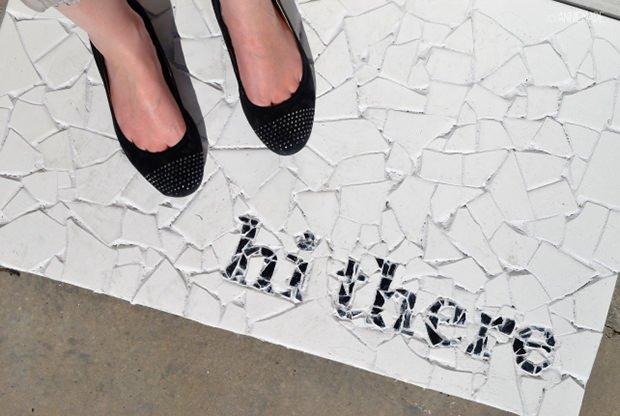 Creative Door Mats You Can Make Yourself 23