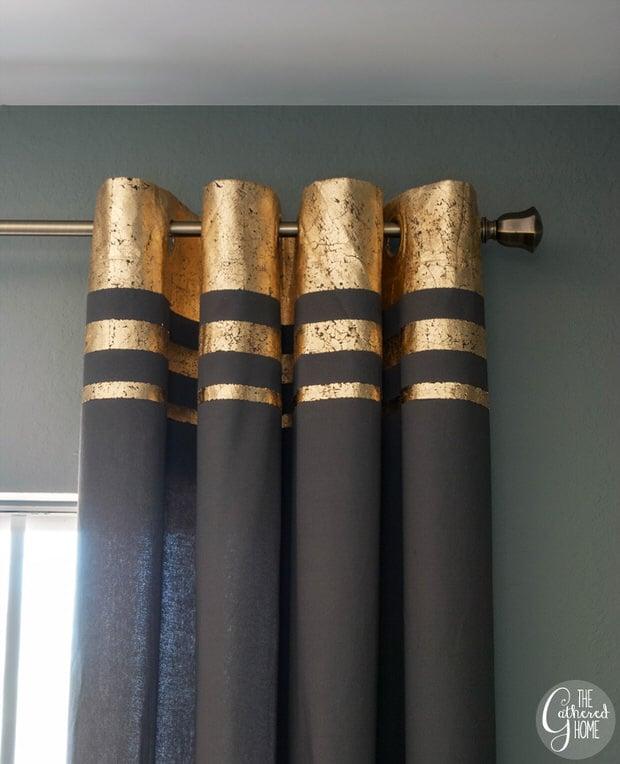 DIY-gold-leaf-embellished-curtains-10