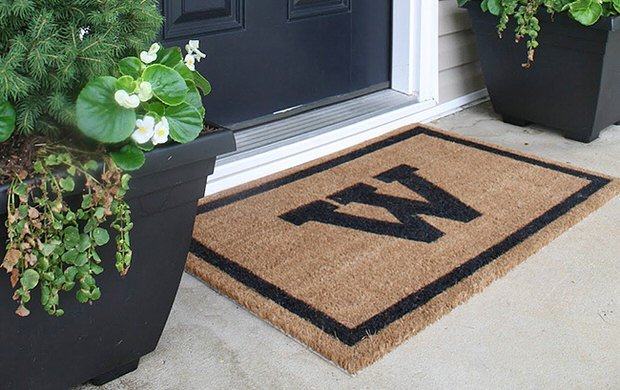 DIY Custom Door Mats