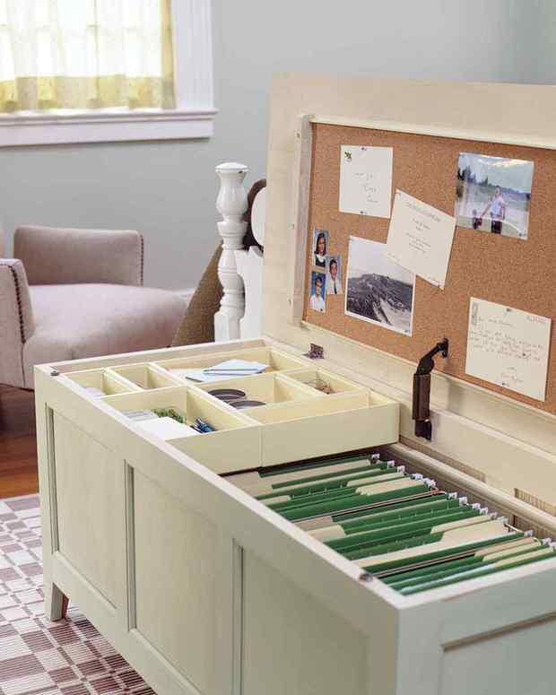 12 Fabulous & Functional DIY Storage Benches