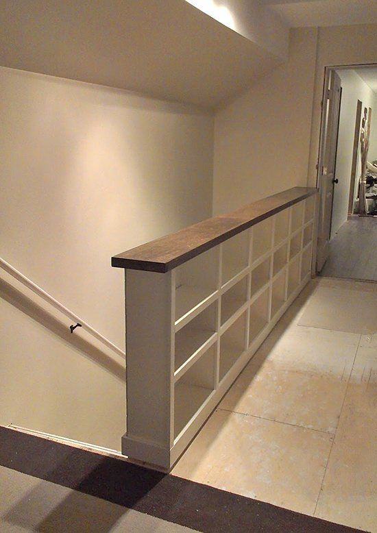 DIY Stair Railing Projects And Makeovers 25