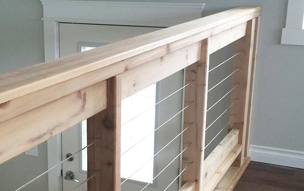 DIY Stair Railing Projects and Makeovers