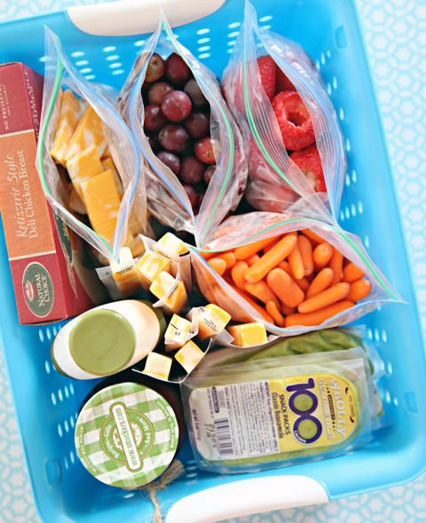 Lunch station organization 1.55.55 PM