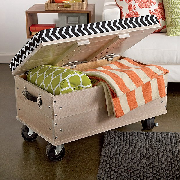 Space Saving Projects On Wheels 12