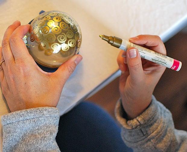 Paint Pens For Glass Ornaments