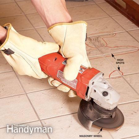 How to tile floors -7