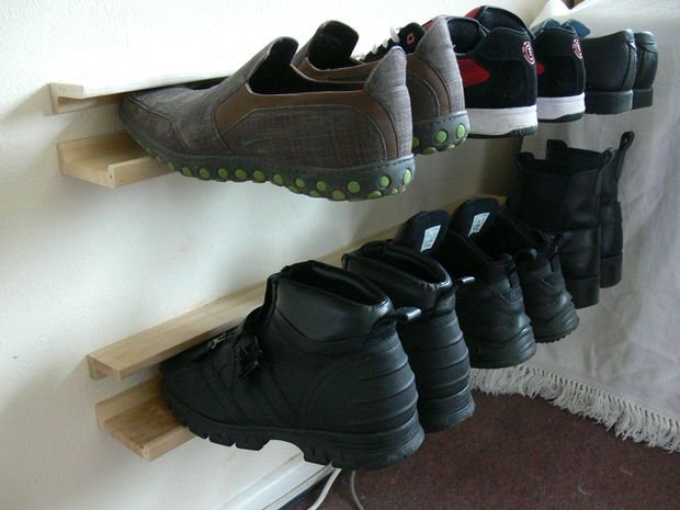 Shoe Storage Projects for Small Spaces | Decorating Your Small Space